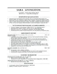Example Of Entry Level Resume Wonderful Interior Design Entry Level Resume Samples Examples Graphic Designer