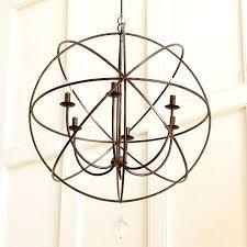 iron orb chandelier copy cat chic restoration hardware iron orb chandelier foucaults iron orb chandelier large