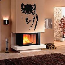 ... Wolf Bedroom Decor Lovely Wall Decals Wild Animals Wolf Dog Predator  Face Bedroom Living ...