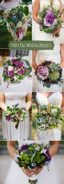 Purple and green wedding colors Kale Green Beautiful Purple Kale And Kale Green Wedding Bouquets Ideas Stylish Wedd Blog Wedding Colors Stylish Wedd Blog