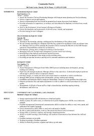 Banquet Chef Resume Banquet Chef Resume Samples Velvet Jobs 1