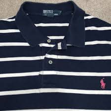 3xb Size Chart 2 Mens Polo Ralph Lauren Striped Short Sleeve Golf Polo