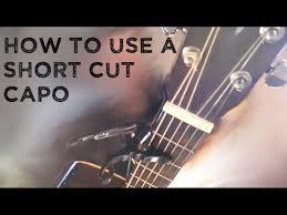Cut Capo Chord Chart