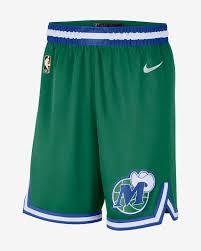 Dallas Mavericks Classic Edition 2020 Nike NBA Swingman Shorts für Herren.  Nike BE
