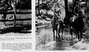 Debbie Davison fox hunting pic - Newspapers.com