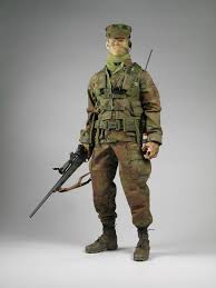 Marine Corps Scout Sniper Punch Customs Your 1 Choice For Custom Figures Headsculpts