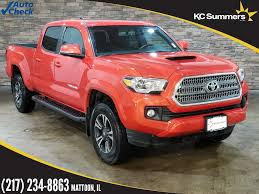 Pre-Owned 2017 Toyota Tacoma TRD Sport Long Bed 4D Double Cab in ...