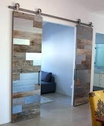 modern barn doors melbourne glass barn doors cool frosted glass sliding barn door for new trends