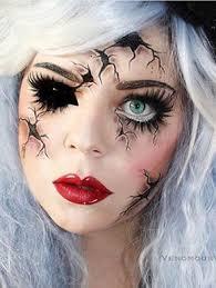 a zombie doll a zombie doll creepy makeup