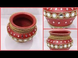Pot Decoration Designs 100 best thaali vid images on Pinterest Jars Planters and Pots 37