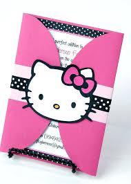 Awe Inspiring Hello Kitty Party Invitations Printable Birthday Party