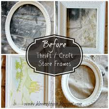 i always always check the frame section of thrift s when i visit i chose 6 total to distress for our wall 4 thrifted and 2 from hobby lobby