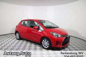 Pre-Owned 2015 Toyota Yaris Hatchback in Parkersburg #D6290C ...