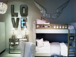 gorgeous wall decoration with mirrored wall letters enchanting image of kid bedroom decoration with love