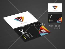Two Sided Presentation Of A Creative Business Card Design On Stylish