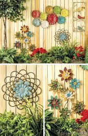 diy large outdoor wall art