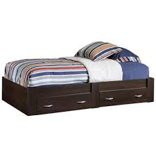 Bed Frames Bedroom Furniture The Home Depot With Twin Platform Headboard