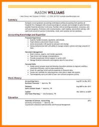 8 Example Resume Accounting Martini Pink