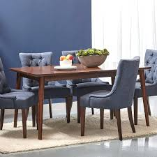 dr mid century modern dining table set round for 8