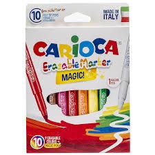 <b>Фломастеры Carioca Erasable</b> 10шт 9 цветов 41238/10: купить за ...