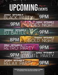 Upcoming Events Flyer Upcoming Events Free Flyer Psd Template