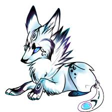cute baby wolf anime. Delighful Anime Drawing Werewolf Cute Baby Galaxy Wolf Auction Svg Black And White Library Intended Cute Wolf Anime W
