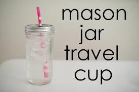 Decorating Mason Jars For Drinking Domestic Fashionista DIY Mason Jar Travel Cup 25