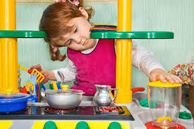 play kitchen sets benefits