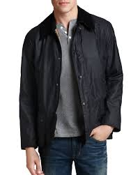 Barbour Size Chart Mens Ashby Tailored Waxed Cotton Jacket