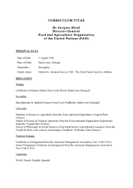 American Curriculum Vitae Format Cv Format In French