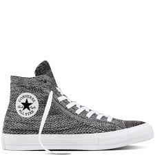 converse black and white. chuck taylor all star x nike flyknit black/wolf grey/white converse black and white