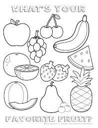 Nice free printable coloring pages including all fruits! Fruit Coloring Sheet 791 1024 Healthy Food Pages Free Pictures Printable Easy Cute For Dialogueeurope