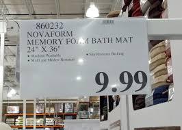 kitchen mats costco. Modren Mats Novaform Memory Foam Bath Mat Are Cheap And Affordable At Costco Item No  860232 In Kitchen Mats