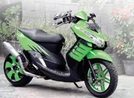 modifikasi yamaha mio soul gt hijau