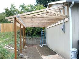 shed patio add on35