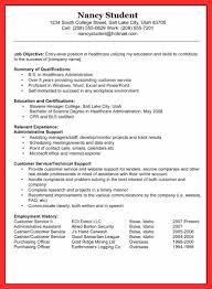 Draft Resume Example Good Resume Format