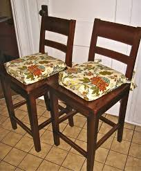 kitchen chair cushions white leather chairs dining table seat pads our crafty dining table chair pads