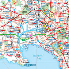 The print has arrived safely and my melbourne map looks fantastic and i am pleased to be the owner of one of these maps, i would. Melbourne And Region Map Hema Maps 11th Edition Carto Graphics