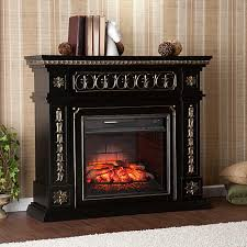 southern enterprises donovan infrared electric fireplace black 8225174 hsn