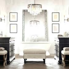 Bathroom lighting chandelier Chrome Bathroom Bathroom Chandelier Overstock Bathroom Chandelier Lighting Small Bathroom Chandelier Small
