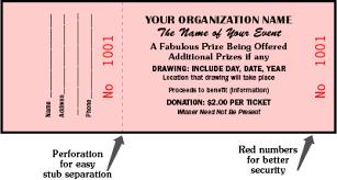 Sample Tickets For Fundraisers Under Fontanacountryinn Com