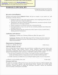 Med Surg Rn Resume Examples Resume Work Template