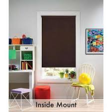 Blackout  Roller Shades  Shades  The Home DepotWindow Blinds Blackout