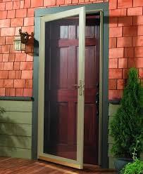 wood storm door st storm doors by falcon wood storm doors with glass panels