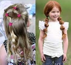 Kids Girls Hair Style easy and rapid hair styles for the kids hairzstyle 4306 by wearticles.com