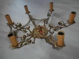 Hängelampe Lampe Deckenlampe Dekenleuchter Bronze Metall