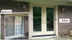charming how to repair sliding door 4 replacing doors with french handballtunisie org replace glass plans