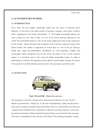 Project Report  After Sales service of Automobiles in India SlideShare