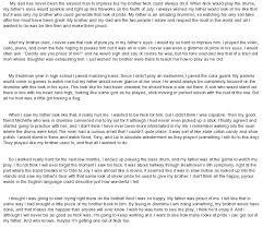 Personal Narrative Essay Example High School Personal Narrative Essay Example Sample High School Komphelps Pro