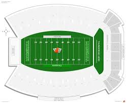 Joan Edwards Stadium Marshall Seating Guide